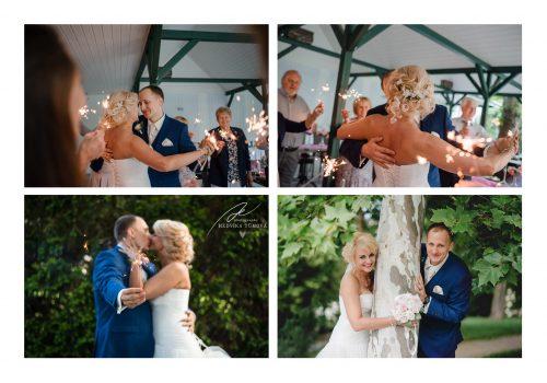 svatba ve Vile Voyta a prskavky
