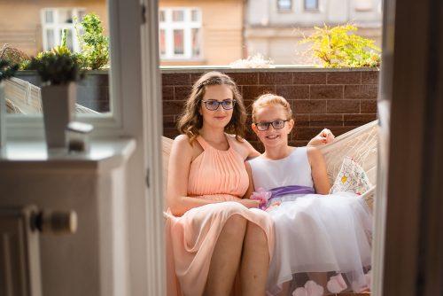 sestry nevěsty