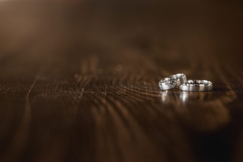Fotograf na svatbu - prstýnky, Mlýn Davídkov, Střední Čechy