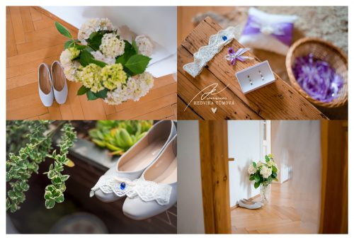 svatební detaily z příprav