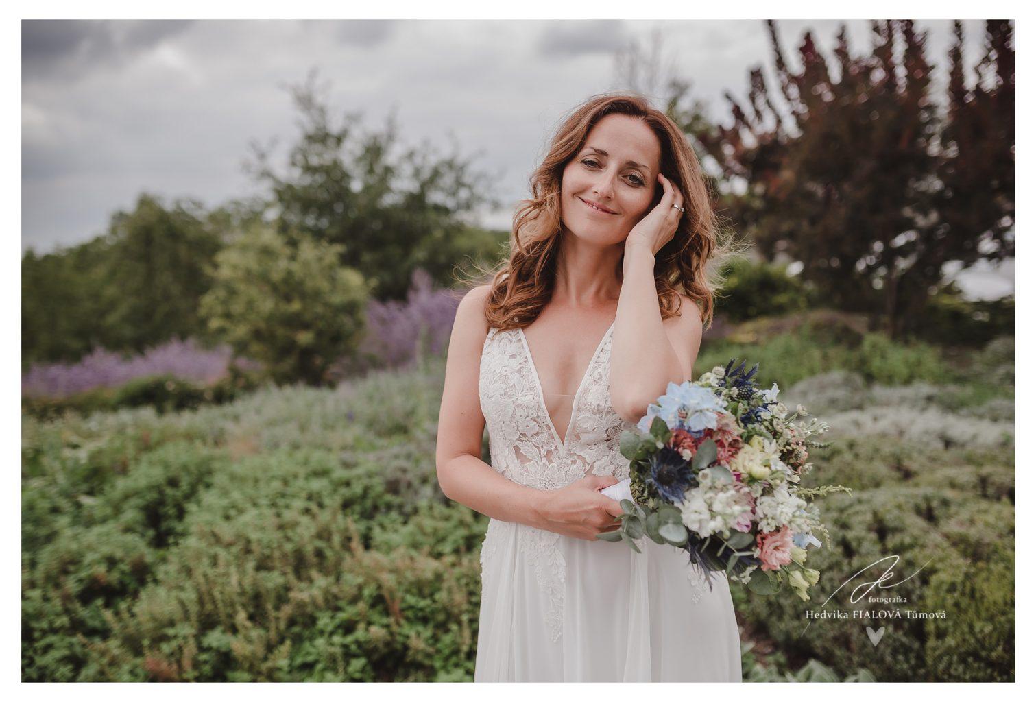 Svatba Salabka Troja nevěsta v boho stylu