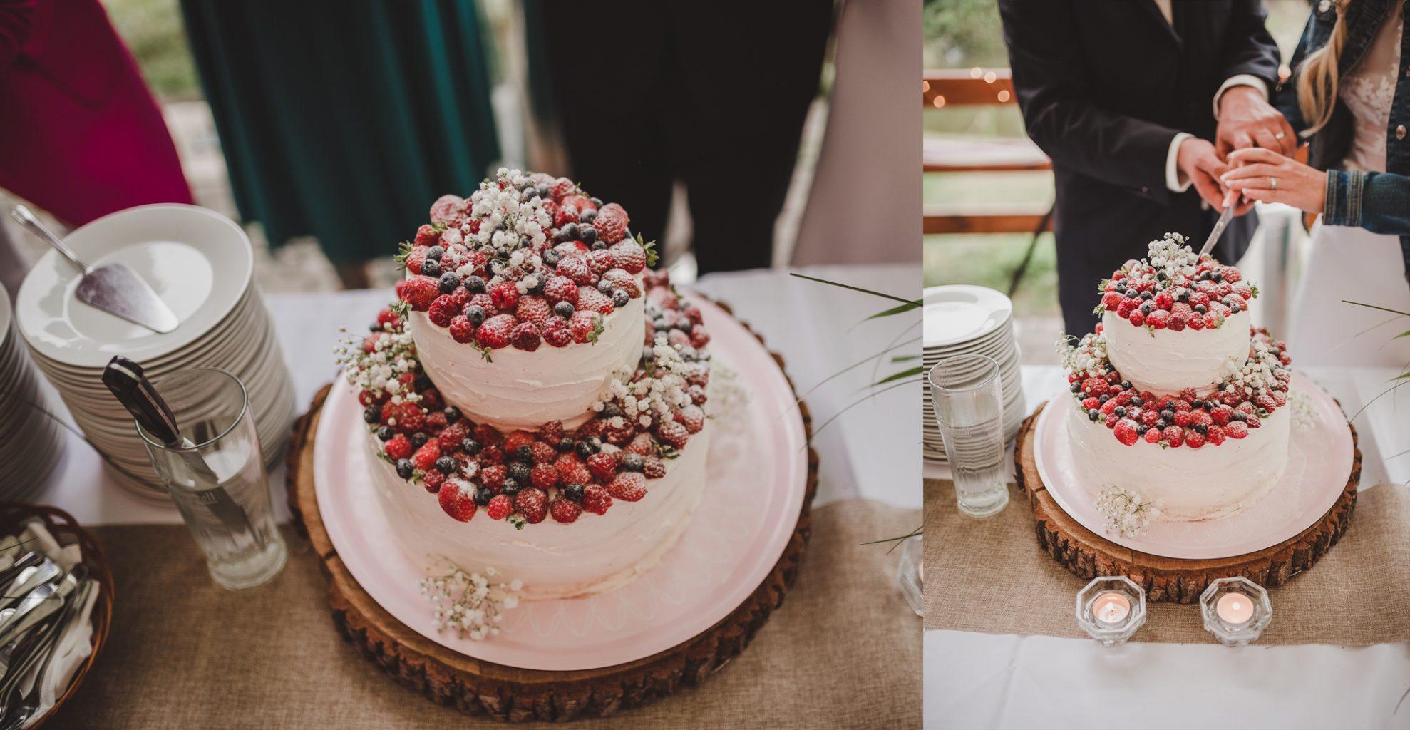 svatebni dort naked krajeni svatebniho dortu